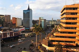 Ankunft in Kenias Hauptstadt Nairobi