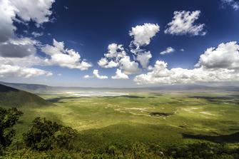 Weltnaturerbe Ngorongoro Krater in Tansania