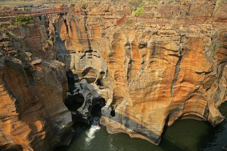 Sue dafrika Gruppenreise -Bourkes Luck Potholes - Drakensberge - Suedafrika
