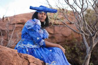 Namibia Gruppenreise - Namibia Abenteuerreise - Herero Frau