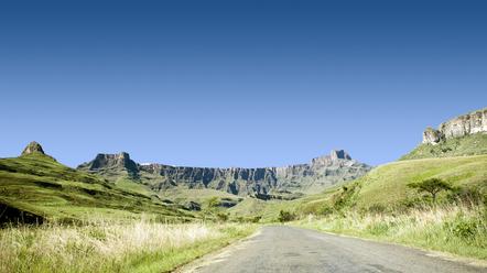 Suedafrika Gruppenreise -Amphiteather - Royal Natal National Park - Suedafrika