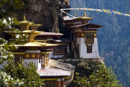 Tigers Nest - Bhutan-Rundreise