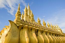 Pha That Luang - Vientiane - Laos.