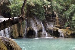 Laos Erlebnisreise -Laos Kambodscha Rundreise -Individuelle Laos Reise -Kuang Si Wasserfall - Luang Prabang - Laos