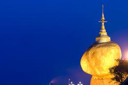Myanmar Gruppenreise -Myanmar Erlebnisreise -Myanmar individuelle Rundreise -Goldener Fels - Kyaiktyio - Myanmar