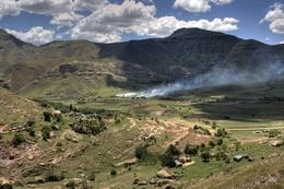 Tal - Lesotho Reisen