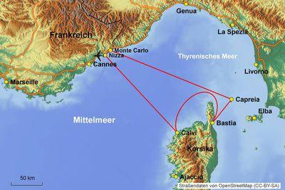 Cote d´Azur Korsika