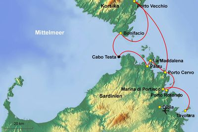 Korsika Sardinien