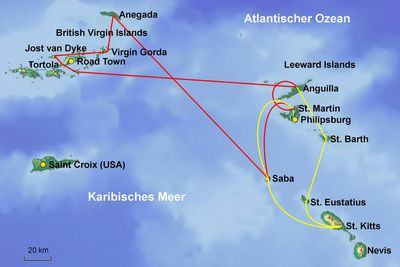 British Virgin Islands St. Martin