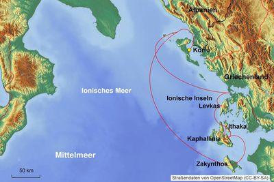 Korfu Ionische Inseln
