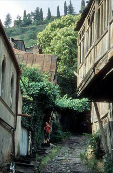 Tbilisi Altstadt-Szene (© HS)