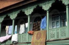 Tbilisi Altstadt - typischer Balkon (© HS)