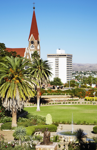 Kirche in Windhoek in Namibia