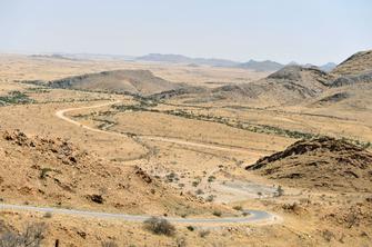 Spreetshoogte Pass in der Namib Wüste in Namibia