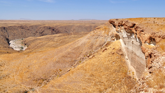 Kuiseb Canyon und Kuiseb River in Namibia
