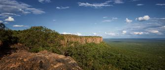 Aussicht vom Waterberg in Namibia