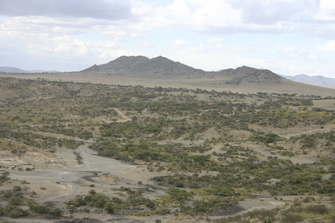Warme Masai Quellen von Maji Chemka in Tansania