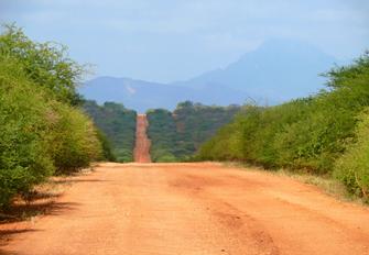 Weiterfahrt Richtung Küste in Kenia