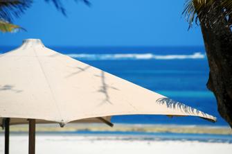Ende des Strandurlaubs in Mombasa in Kenia