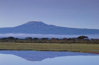Ankunft am Kilimanjaro Airport in Tansania.