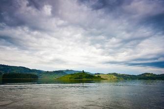 Bootstour auf dem Lake Bunyonyi in Uganda