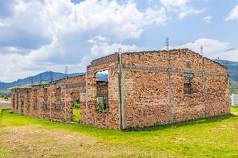 Genozid Denkmal in Kgali in Ruanda