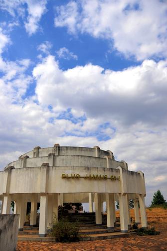 Denkmal wegen des Völkermords der Tutsi in Ruanda