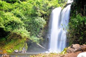 Materuni Wasserfall in Tansania