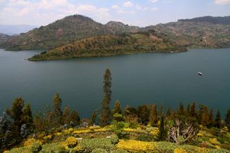 Entspannung am Lake Kivu in Ruanda