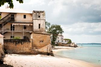 Stonetown auf der Insel Sansibar in Tansania