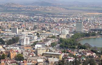 Reisebeginn in der Hauptstadt Antananarivo in Madagaskar
