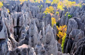 Wanderung im Tsingy Madagaskar