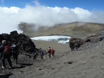 Abstieg via Mweka Hut zum Parkausgang des KIlimanjaro Nationalparks in Tansania