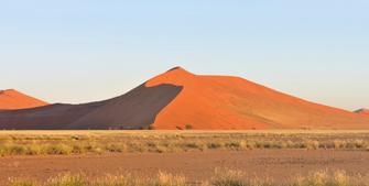 Sossusvlei in der Namib Wüste in Namibia