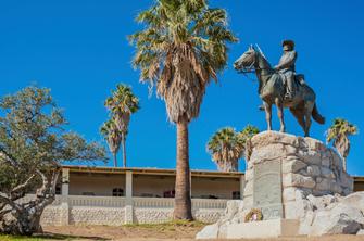 Ankunft in Windhoek in Namibia