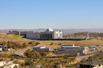 Staatshaus in Windhoek in Namibia