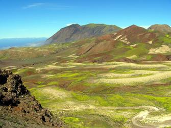 Berglandschaft auf den Kapverden