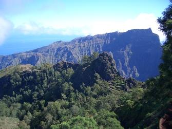 Wanderung in der Natur auf den Kapverden