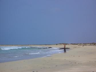 Tag zur freien Verfügung am Meer auf den Kapverden