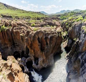 Bourke's Luck Potholes am Blyde River Canyon in Südafrika