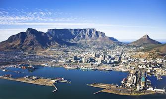 Tafelberg in Kapstadt in Südafrika