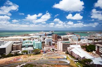 Meer in Port Elizabeth in Südafrika