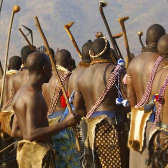 Kultur der Swazi in Swasiland in Südafrika