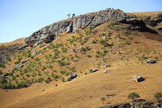 Wanderung auf die Drakensberge und durch den Royal-Natal-Nationalpark