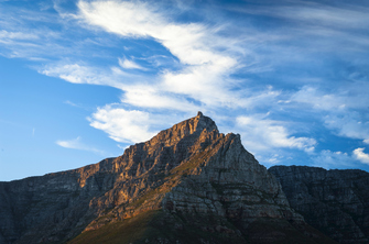 Wanderung auf den Tafelberg in Kapstadt in Südafrika