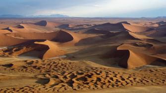 Sossusvlei Wüstenlandschaft in Namibia
