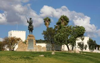 Reiter Denkmal in Windhoek in Namibia
