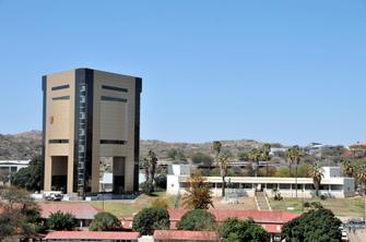 Independence Memorial Museum in Windhoek in Namibia