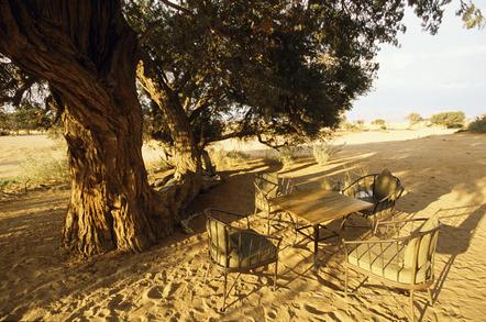 Namibia Gruppenreise - Namibia geführte Reise - Namibia Erlebnisreise - Picknick in der Wueste - Namib Wueste