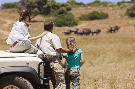 Rundreise durchs Suedliche Afrika - Südafrika Gruppenreise - Pirschfahrt - Krueger National Park - Suedafrika